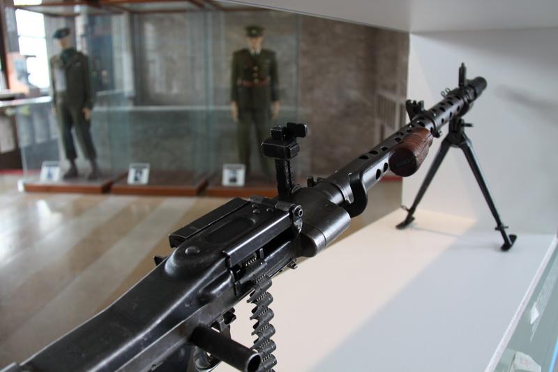 Kulomet MG 34, vyráběl se i ve Zbrojovce Brno