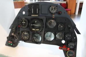 Palubní deska letounu Avia S-199