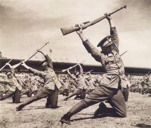 Příslušníci rumunské armády. Foto sbírka VHÚ.