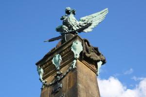 Vrcholek památníku