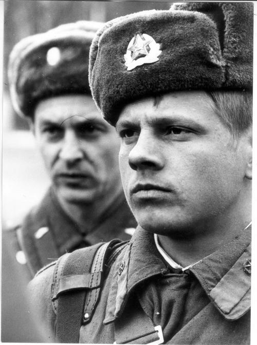Odchod sovětských vojáků. Foto sbírka VHÚ.