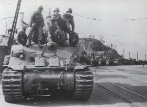 Americké tanky v Pchjongjangu
