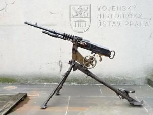 Francouzský těžký kulomet Hotchkiss Mle. 1914