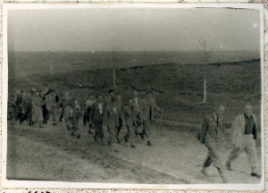 Cesta Československého legionu do sovětského zajetí, září 1939. Foto sbírka VHÚ.