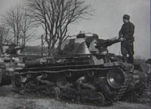 Tank LT 35 s novou kamufláží. Foto sbírka VHÚ.