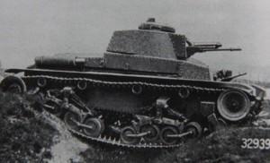 Tank LT 35 při zkouškách. Foto sbírka VHÚ.