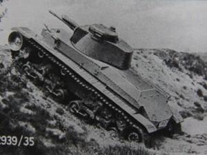 Tank LT při zkouškách. Foto sbírka VHÚ.