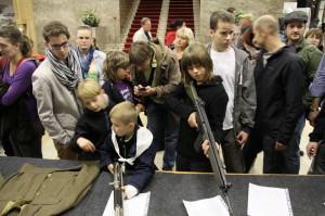 Pražská muzejní noc - Armádní muzeum Žižkov.