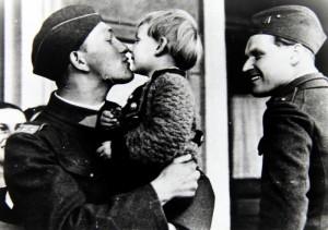 Čs. vojáci při mobilizaci v září 1938. Foto sbírka VHÚ.