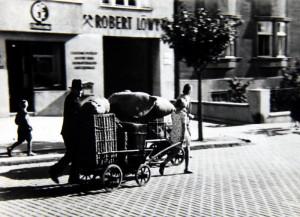 Evakuace Čechů v pohraničí. Foto sbírka VHÚ.