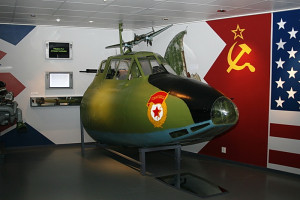 Příď letounu v norském muzeu