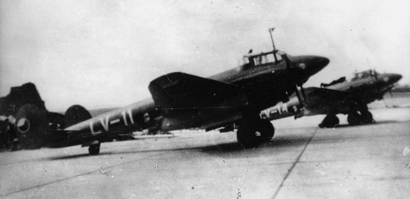 Petljakov Pe-2 v čs. poválečném letectvu. Foto sbírka Jiří Rajlich.