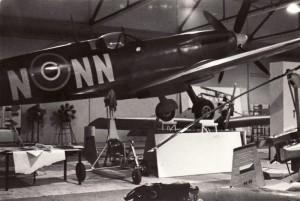 Příprava expozice na první slavnostní otevření 9. října 1968. Foto sbírka VHÚ.