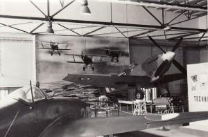 Pohledy do expozice v roce 1969. Foto sbírka VHÚ.