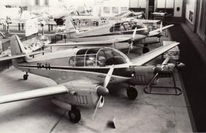 V popředí Aero Ae-145. Foto sbírka VHÚ.