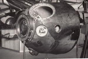 Přistávací modul kosmické lodě Sojuz 28, 1978. Foto sbírka VHÚ.
