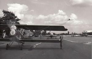 Den Leteckého muzea, slavnostní předvedení Aera Ab-11. Foto sbírka VHÚ.