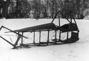 Bohemia B-5 při předání z Národního technického muzea. Foto sbírka VHÚ.