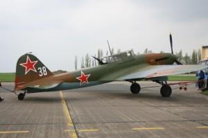 Iljušin Il-2 po renovaci v roce 2006. Foto sbírka VHÚ.