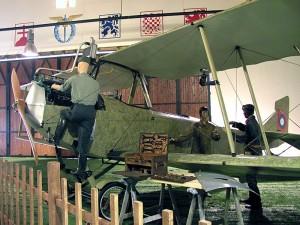 Aero Ae-10 v nové expozici H-88. Foto sbírka VHÚ.