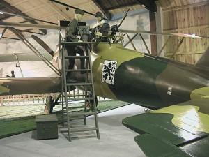 Letov Š-2 v expozici H-88. Foto sbírka VHÚ.