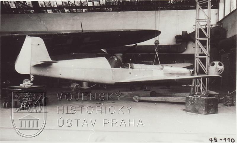 Německý cvičný letoun SK 257