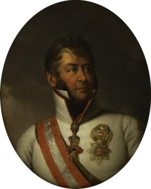Rakouský polní maršál Karel Filip kníže Schwarzenberg, vrchní velitel všech spojeneckých sil v bitvě národů u Lipska. Foto sbírka VHÚ.