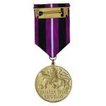 Čestný odznak Přemysla Otakara II., krále železného a zlatého (rub)