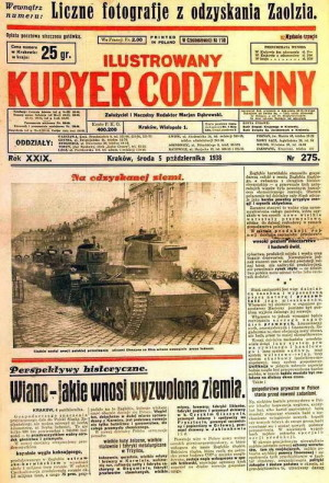 Dobové polské noviny