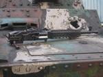 Pod několika vrstvami: kulomet z tanku LTP