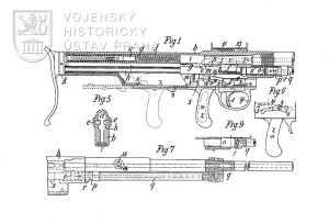 Pokusný kulomet Odkolek 1889