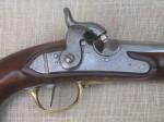 Restaurování pistole s perkusním zámkem