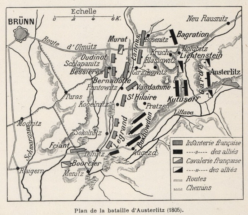 Největší Napoleonovo vítězství – bitva u Slavkova 2. prosince 1805