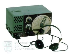 Československý přijímač RP 16 rádiové stanice vzor 29 (F2)