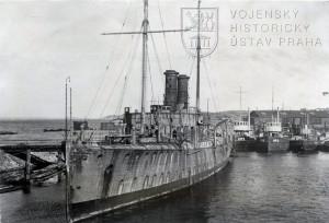Německý dělový člun Panther. Foto sbírka VHÚ.