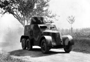 Obrněný vůz vz. 30. Foto sbírka VHÚ.