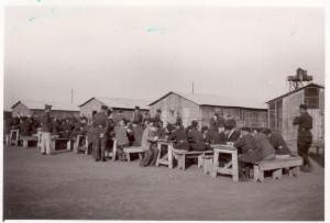 Zkouška maturantů dne 19.10.1939. Foto sbírka VHÚ.