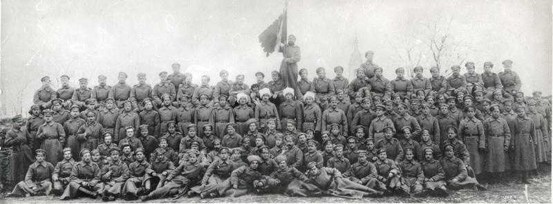 12. rota 1. pluku čs. legií na Rusi. Foto sbírka VHÚ.