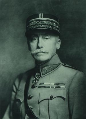 Generál Maurice Pellé, první náčelník Francouzské vojenské mise v Československu. FOTO: sbírka VHÚ