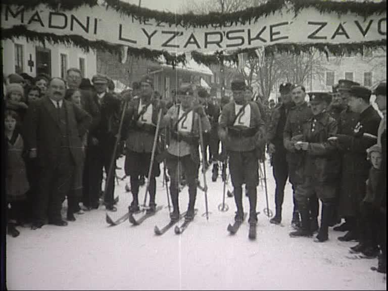1. mezinárodní armádní lyžařské závody 1924