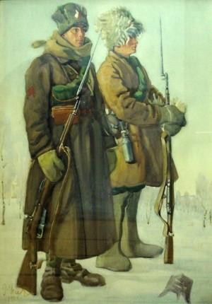 Jindřich Vlček - Ruští legionáři