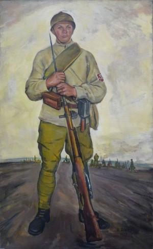 Jaroslav Riedl - příslušník úderného praporu