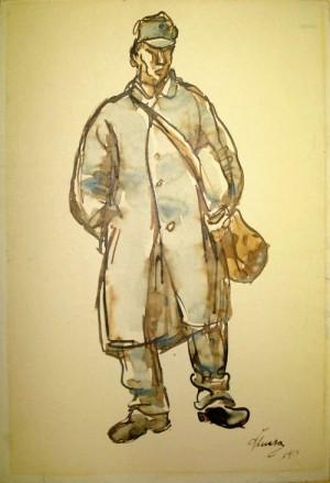 Jan Štursa - Voják