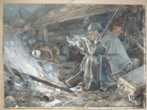 Heřman Němeček - U ohně