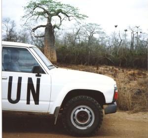Patrola v Angole