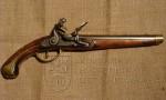 Ruská pistole s francouzským křesadlovým zámkem, Tula, 1806