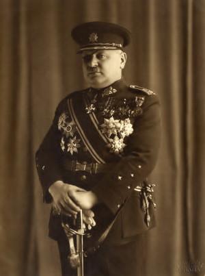 Arm.gen. Jan Syrový, ministr národní obrany ve vládě Rudolfa Berana.  FOTO: sbírka VHÚ Praha