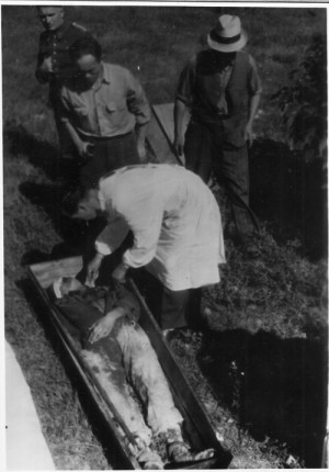 Exhumace ostatků Romea Reisingera