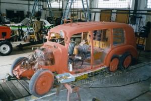 Tatra 26/52 zásahový hasičský vůz.