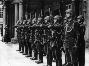 Čestná stráž vládního vojska